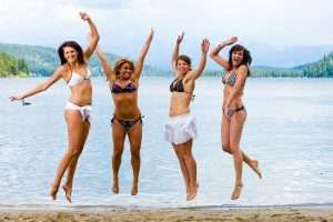 jumping bikini 300x200 3 Reasons To Join a Weight Loss Group