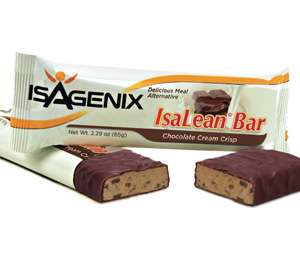 IsaLean Chocolate Cream Crisp 300x260 What Are The 5 Things To Look For In A Protein Bar?